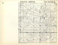 South Grove T41N-R3E, DeKalb County 1957
